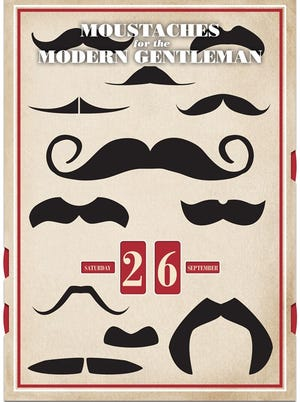 This mustache calendar could be yours, if you enter our contest.
