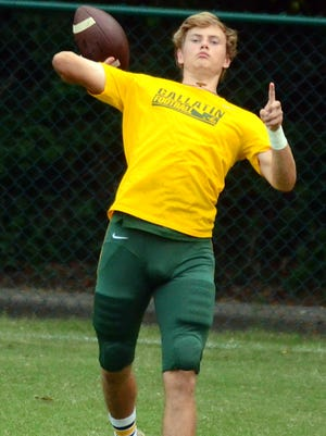 Gallatin senior quarterback Wyatt Hayes is expected to start Friday's game at Mt. Juliet.