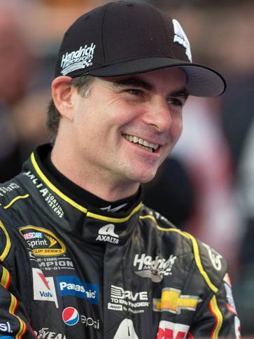 Jeff Gordon was selected to the NASCAR Hall of Fame