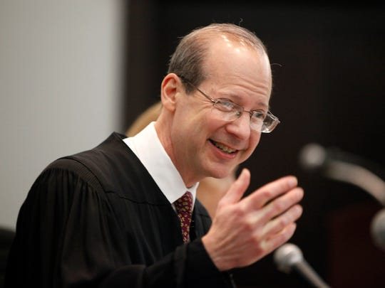 Stuart Rabner, chief justice of the Supreme Court of