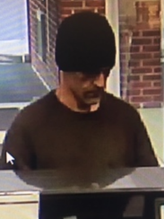 Surveillance video showed this suspect at the robbery