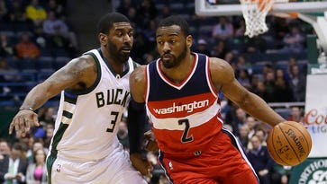 John Wall said he's been frustrated with his team's overall performance this year.