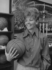 Pat Roy, in 1972 when she was IHSAA director