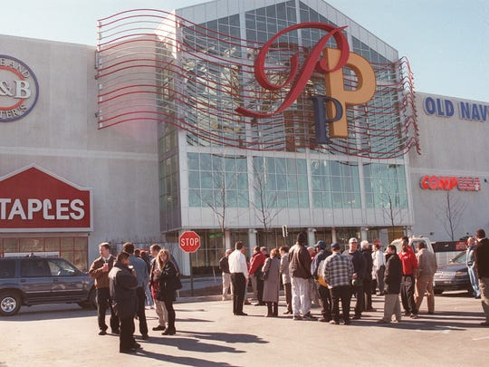A 1999 file exterior photo of the Palisades Center.