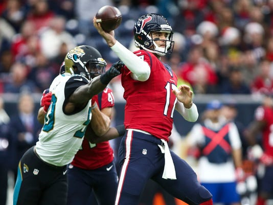 USP NFL: JACKSONVILLE JAGUARS AT HOUSTON TEXANS S FBN USA TX