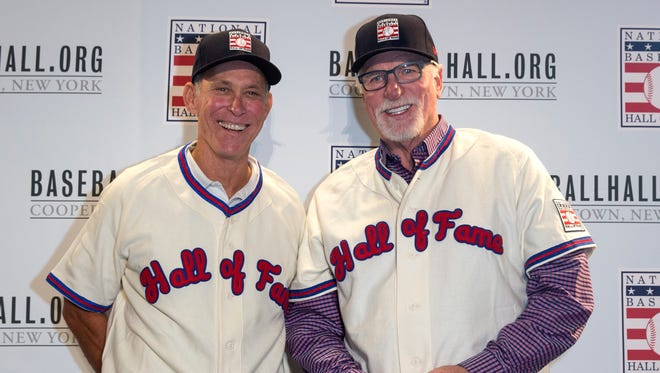 Alan Trammell and Jack Morris are preparing their speeches as both former Tigers will be inducted into the National Baseball Hall of Fame Sunday, July 29, in Cooperstown, N.Y.