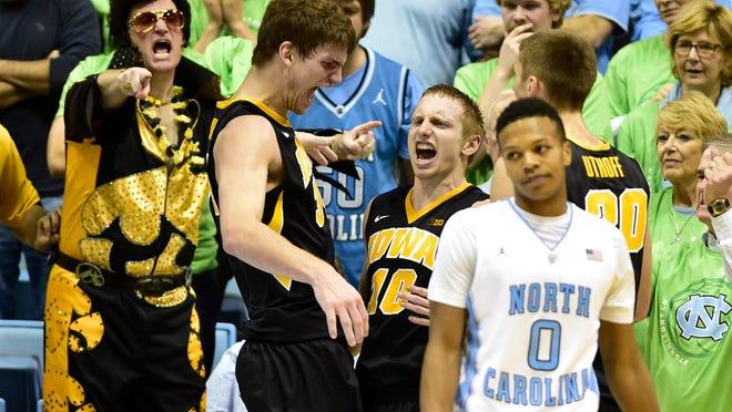 An ESPN audience of 1.4 million saw Iowa play North Carolina on Dec. 3.