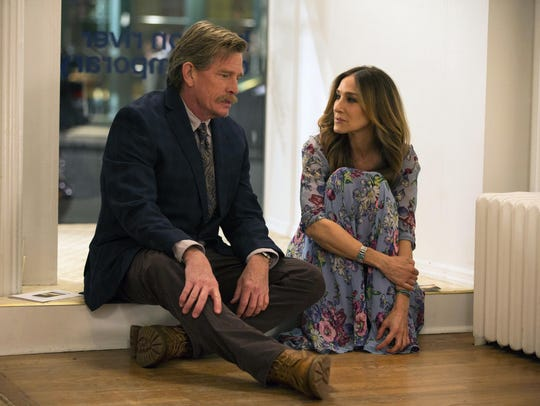 Thomas Haden Church, left, and Sarah Jessica Parker