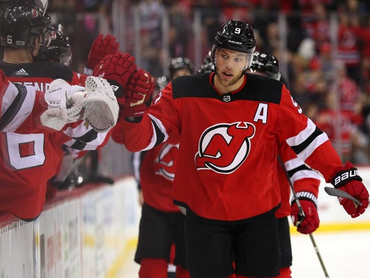 NHL: Los Angeles Kings at New Jersey Devils