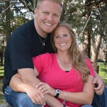Krista Judge and Scott Crawford