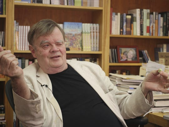 Author and public radio personality Garrison Keillor