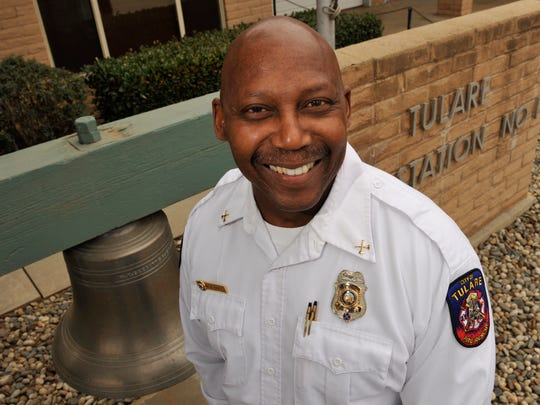 Tulare Fire Chief Willard Epps.