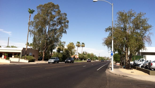 Camelback Road in Scottsdale.