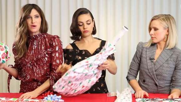 Kathryn Hahn, Mila Kunis and Kristen Bell wrap awkward