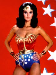 Lynda Carter starred on the 1970s 'Wonder Woman' TV