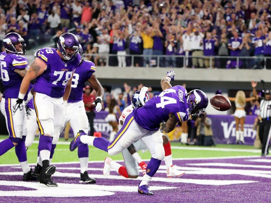 BESTPIX New York Giants v Minnesota Vikings