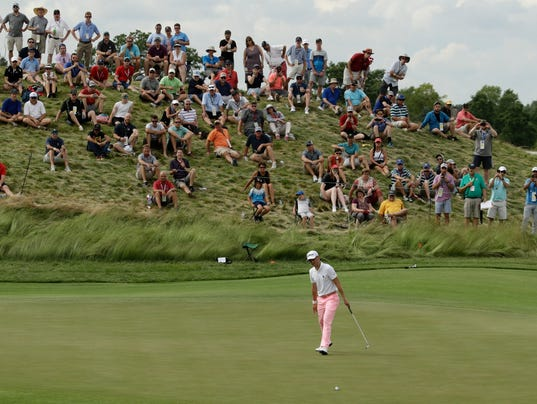 Wisconsin Golf Basks In The Glow Of The US Open At Erin Hills - Erin hills us open map