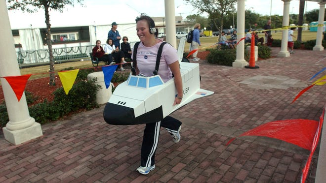 Registration for the space-themed Space Coast Marathon and Half Marathon opened Monday. The half marathon was full within 4 minutes of registration opening.