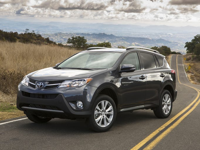 10th - The Toyota RAV4 - 315,412 sold in the U.S. in
