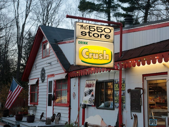 Phil's 550 Store in Marquette is seen on Friday, Nov.11,