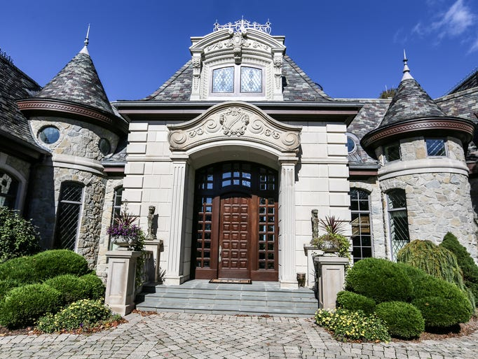 Approach the front of this mansion and you may freeze