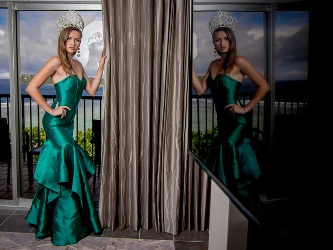 Miss Earth Guam 2017 Emma Mae Sheedy  poses for the