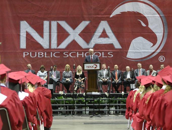 Nixa High School's Class of 2018 Commencement ceremonies