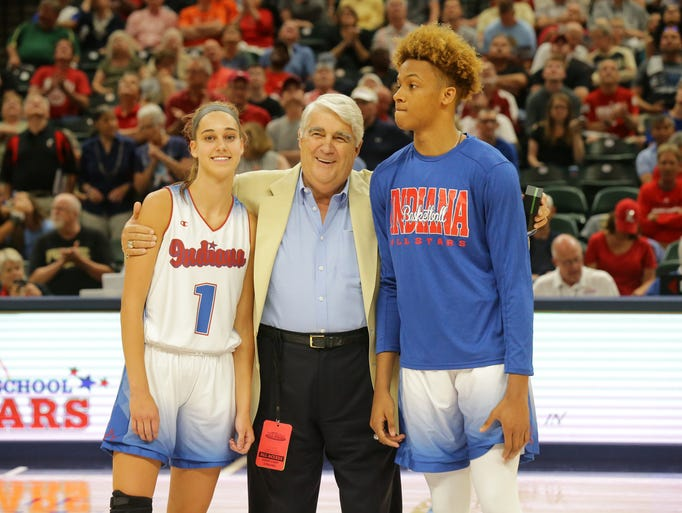 Indiana All-Stars and Mr. and Mrs. Basketball, Amy