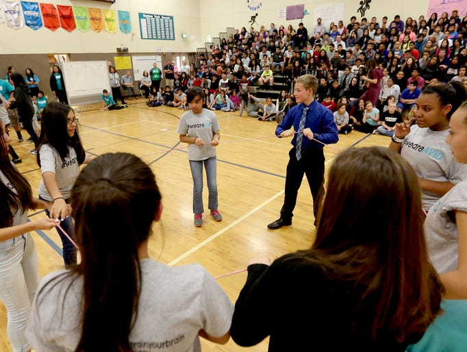 Stephens Middle School looks to advance AVID program