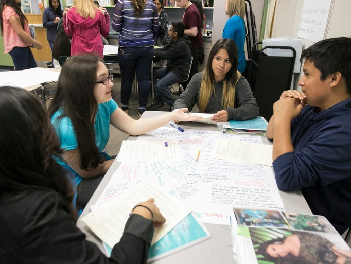 Stephens Middle students address bullying