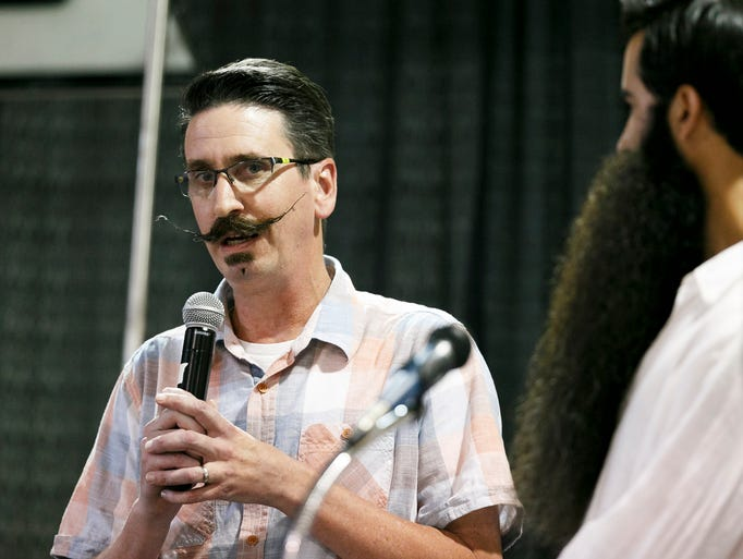 oregon state fair mustache or beard contest. Black Bedroom Furniture Sets. Home Design Ideas