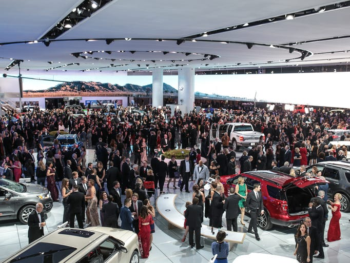 Photos Detroit Auto Show Charity Preview Cars And Fashion