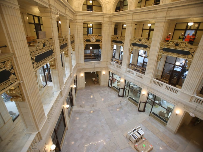A look inside the David Whitney building apartments