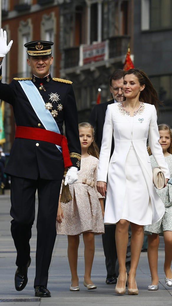 Spain's new royal family