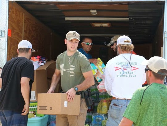 Concho Valley residents helping after Hurricane Harvey.