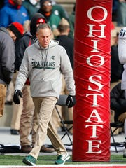 Nov 11, 2017; Columbus, OH, USA; Michigan State Spartans
