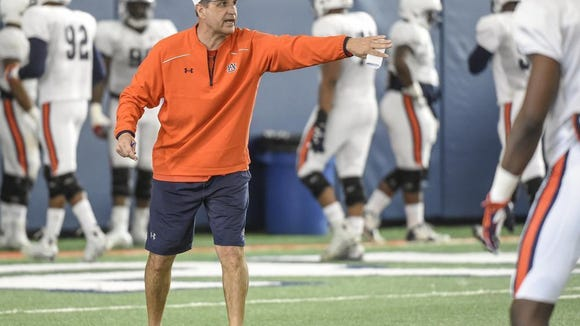 Kevin Steele is in his first year as Auburn's defensive coordinator.