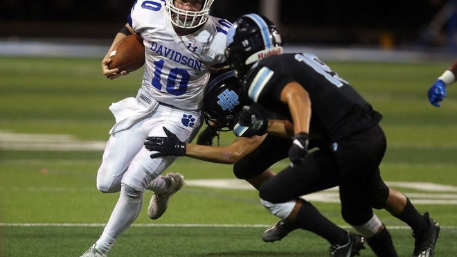 Blake Pettit and Hilliard Davidson will play host to Hilliard Bradley on Friday, Sept. 11.