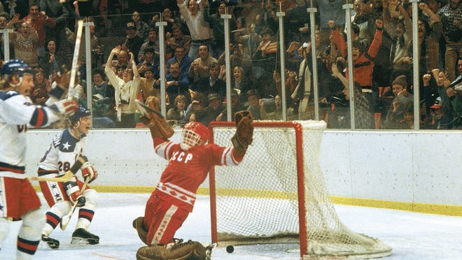 """At the 1980 Winter Olympics in Lake Placid, as the USA defeated the USSR in the game that became known as the """"Miracle on Ice."""" There's a campaign to return the Winter Olympics to New York in 2026."""