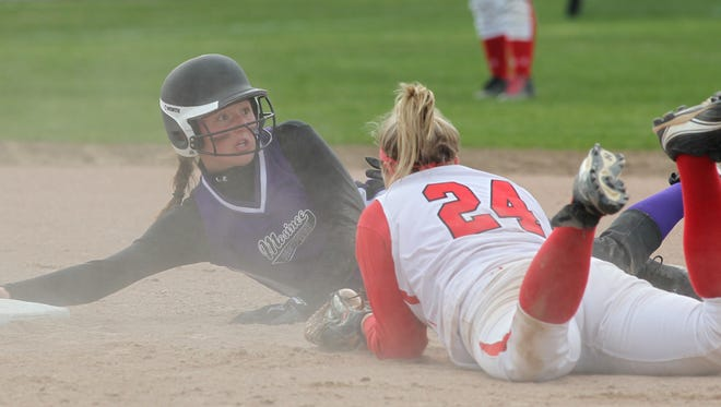 Mosinee's Bailey Schultz led the Great Northern Conference in both hits and batting average this spring and was named the conference's softball player of the year.