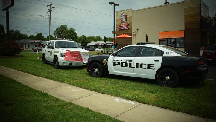 This is why police were on top of Dunkin' Donuts
