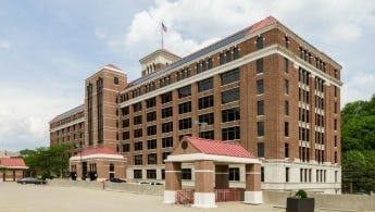 The Baldwin office buildings in Walnut Hills are hitting the auction block next month.
