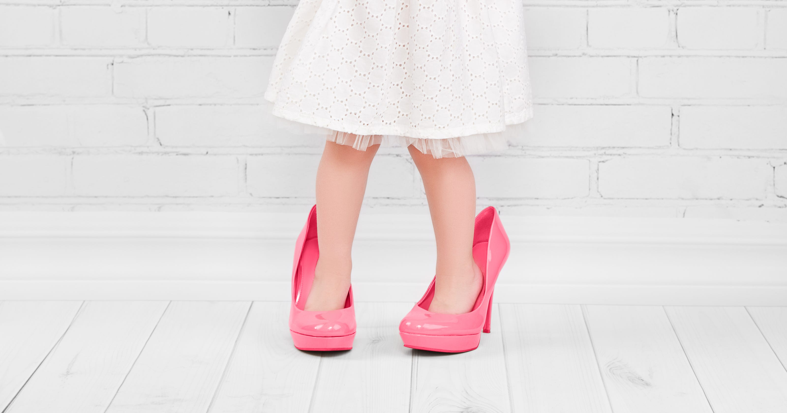 ba4cf7d95847 This company wants your baby in high heels before she s walking