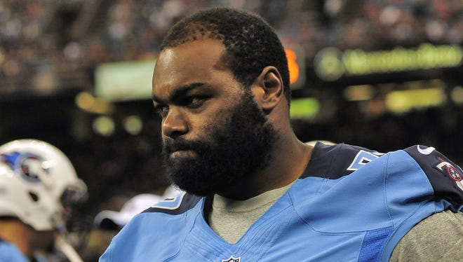 Titans tackle Michael Oher