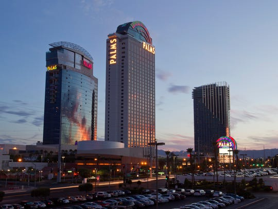 """The Palms Resort Casino was famous for hosting a season of MTV's """"Real World: Las Vegas."""""""