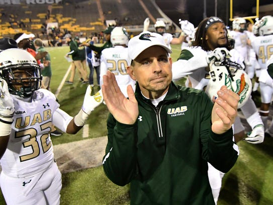 Bill Clark has UAB in a bowl game this season.