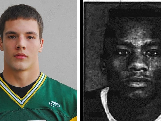 Pennfield All Time Football Players No. 7 and No. 8