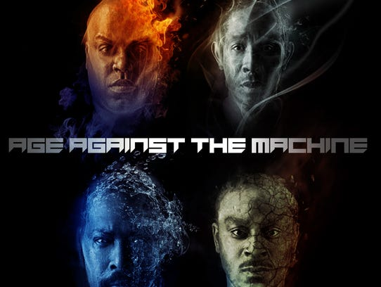 Goodie Mob's 'Age Against the Machine' album cover