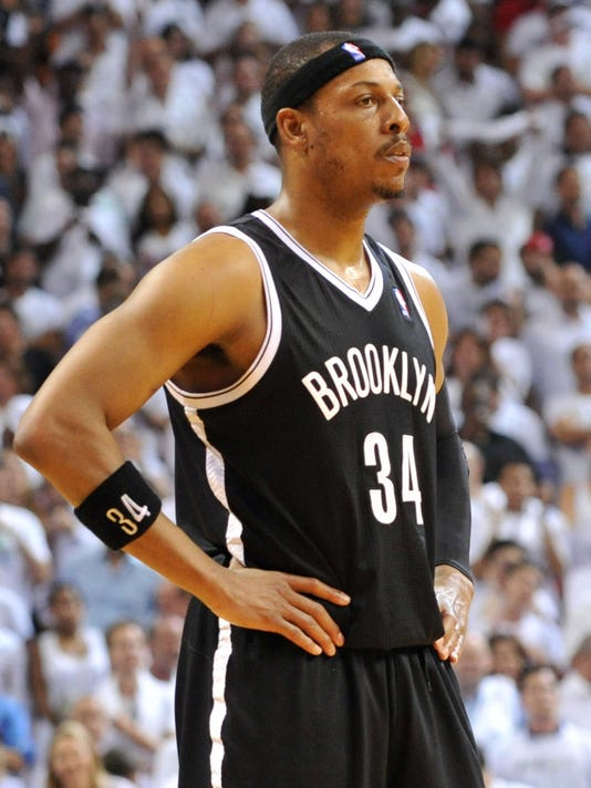 best service c15b8 efdf2 Paul Pierce agrees with Wizards on two-year deal