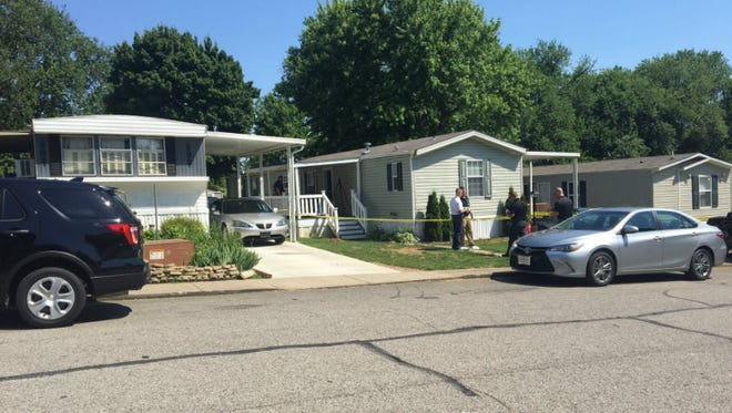 An investigation is underway in Florence after two people were found dead inside a home Friday afternoon.